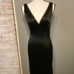 Sexy bebe Black Bodycon Fitted Party Dress